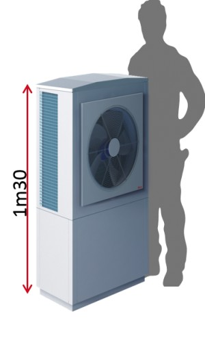 pompe a chaleur haute temperature hrc 70 11kw 220v auer. Black Bedroom Furniture Sets. Home Design Ideas